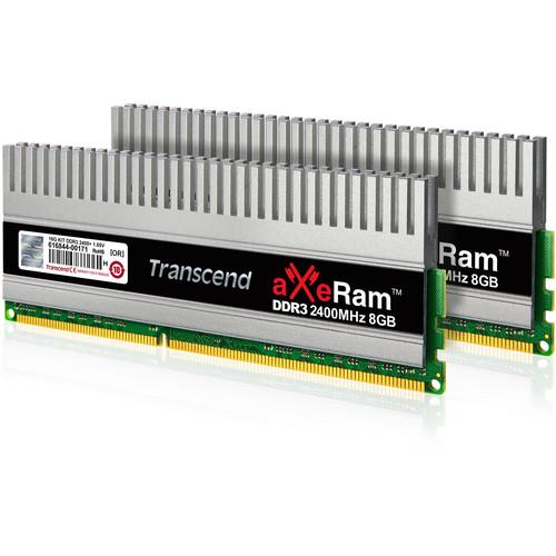 Transcend 16GB aXeRam DDR3 2400 MHz UDIMM Memory Kit