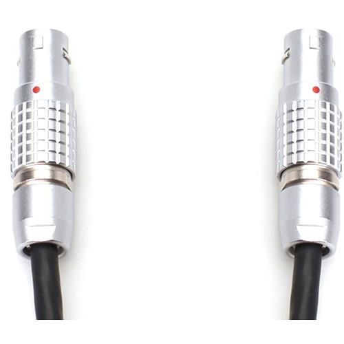 "Transvideo Mini LEMO 2 ALEXA/AMIRA Style to LEMO2 Panavision 24 VDC Cable (18"")"