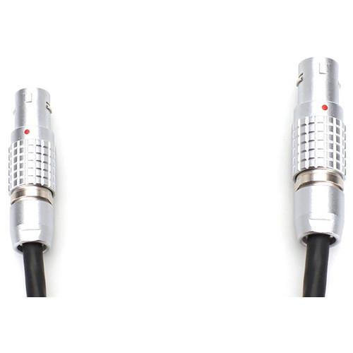 """Transvideo Mini LEMO 2 ALEXA/AMIRA Style to Mini LEMO3 GPI Pro 12/24 VDC Cable (18"""")"""
