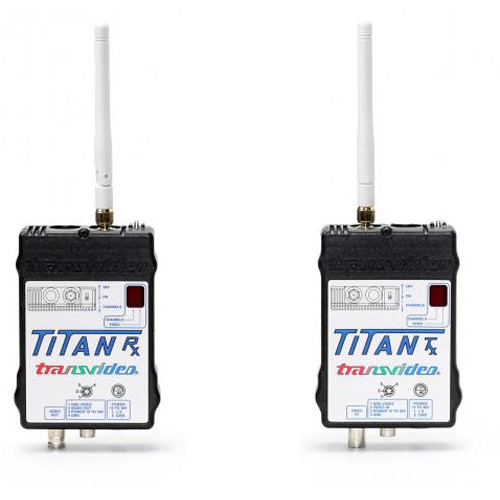 Transvideo Titan Set  Pack 1 (1-TX FCC/IC/CE Certified+ 1-RX)