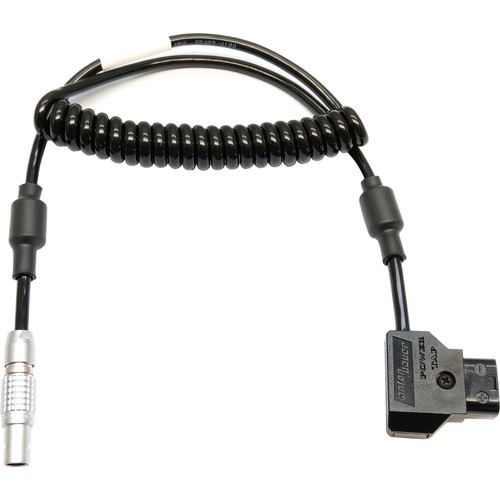 """Transvideo 8-Pin LEMO to D-Tap Power Cable for CineMonitor HD (Coiled, 19.6 to 27.5"""")"""