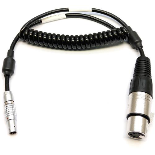 Transvideo 4-Pin XLR Female to Mini 2-Pin LEMO 12 V Cable for ARRI artemis