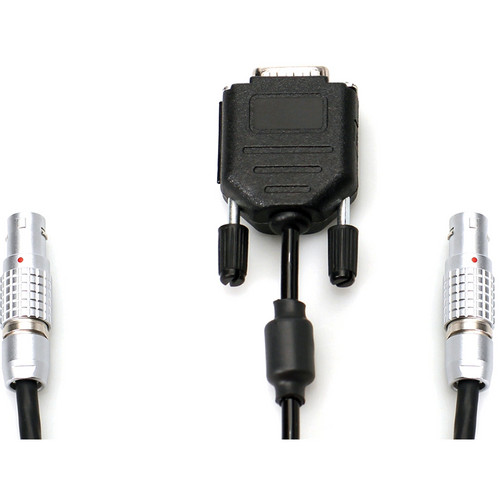 "Transvideo LEMO8 Male & Sub-D9 Male to LEMO8 Male Split Cable for MK-V Nexus (33"")"