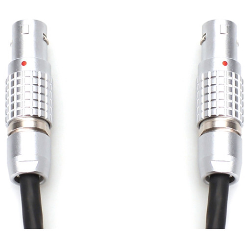 Transvideo Mini 2-Pin LEMO to 4-Pin LEMO Power Cable for Starlite HD on Steadicam