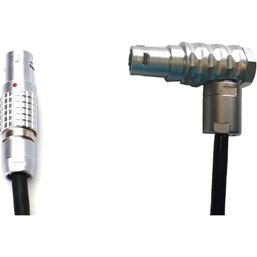 Transvideo Mini LEMO 5-Pin to LEMO 6-Pin Right Angle Cable for StarliteHD5-ARRI
