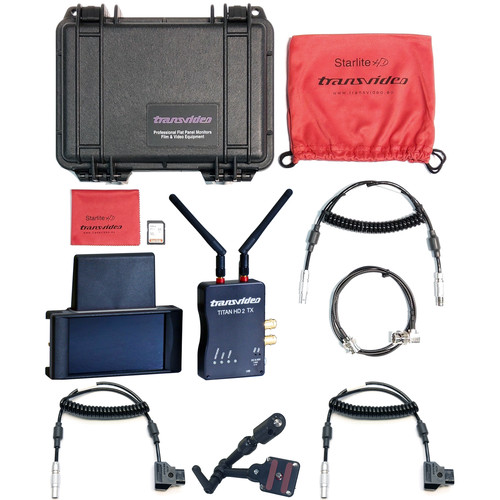Transvideo StarliteRF-a Wireless Monitor/Recorder Kit for Alexa-Mini & AMIRA Cameras