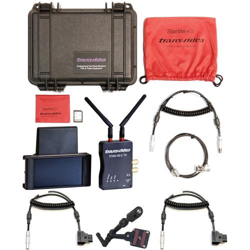 "Transvideo 5"" StarliteRF Arri Pack with TitanHD2 Transmitter"