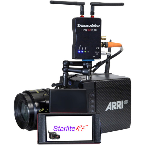 Transvideo StarliteRF-a Deluxe Kit with Starlite-RFa Monitor, a Titan-HD2 Receiver & Two Transmitters