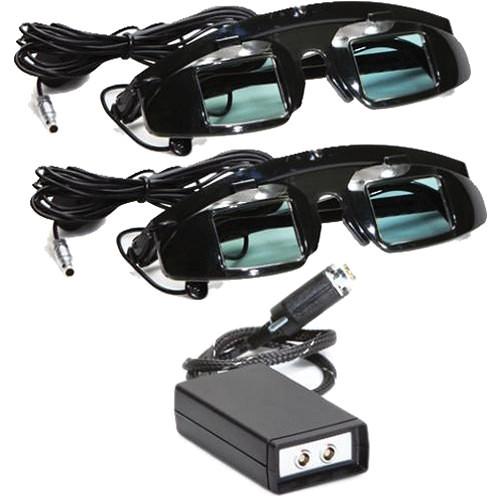 Transvideo HDSHUT2 Shutter Glasses Kit