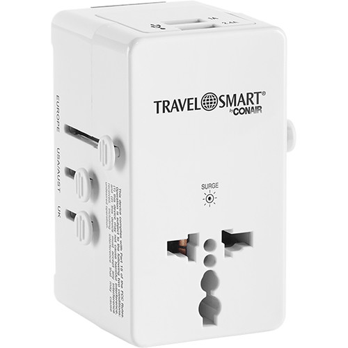 Travel Smart by Conair All-in-One Adapter Plug