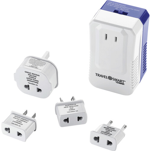 Travel Smart by Conair Convert-It-All Power Converter and Worldwide Adapter Set