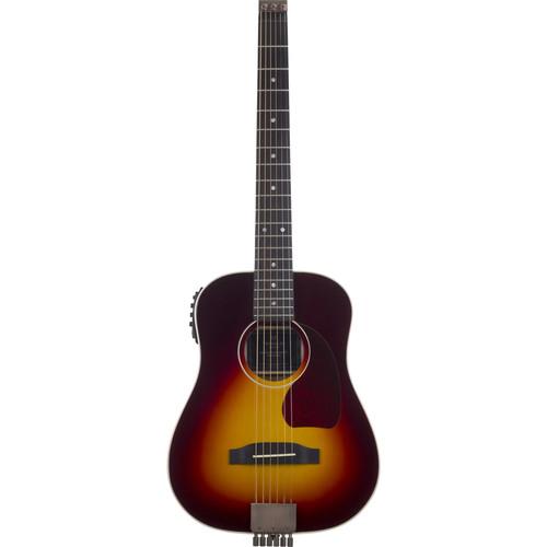 Traveler Guitar AG-450 EQ Compact Acoustic / Electric Guitar with Gig Bag (Sunburst)