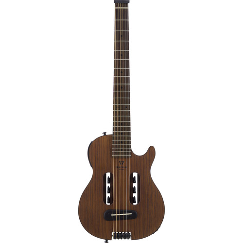 Traveler Guitar Escape Mark III - Compact Acoustic / Electric Guitar with Gig Bag (Mahogany)