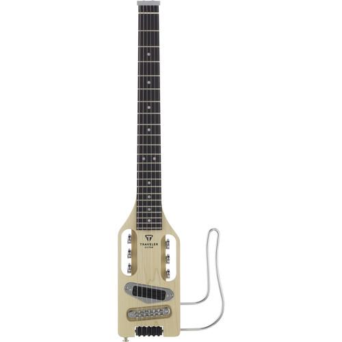 Traveler Guitar Ultra-Light Compact Electric Guitar (Natural Satin)