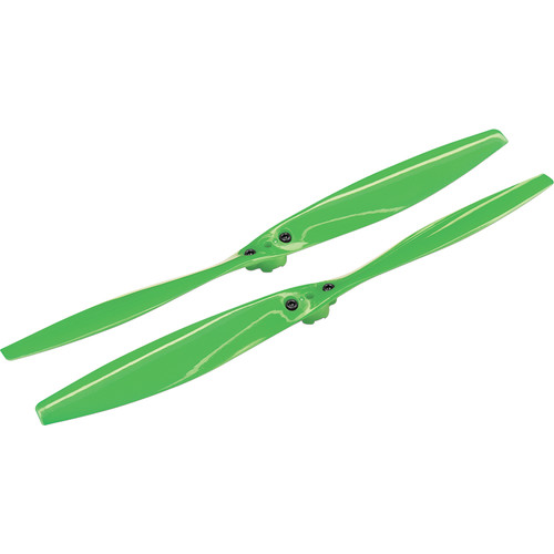 Traxxas Rotor Blade Set with Screws (Pair, Green)
