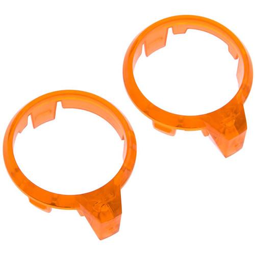 Traxxas LED Motor Lens (Left & Right, Orange)