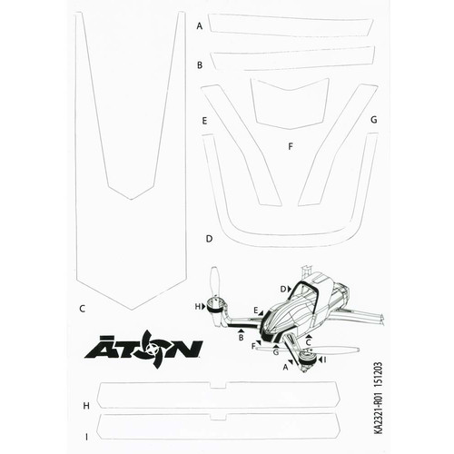 Traxxas High Visibility Decals (White)