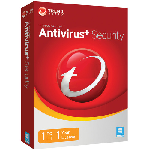 Trend Micro Titanium Antivirus + Security 2014 (1-PC, 1-Year License, Download)