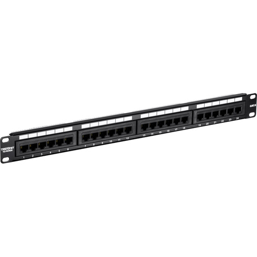TRENDnet 24-Port Cat 6 Unshielded Patch Panel