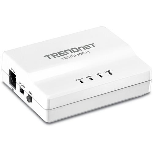 TRENDnet 1-Port Multi-Function USB Print Server