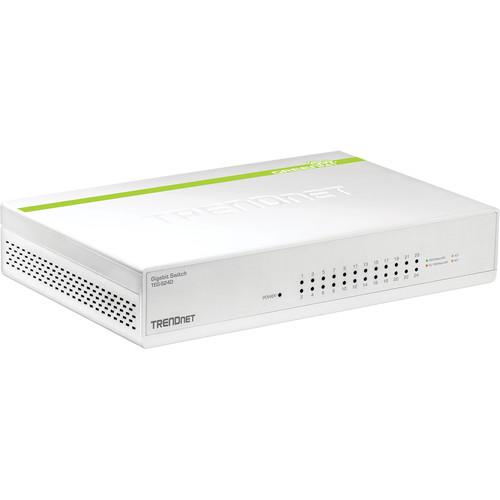 TRENDnet 24-Port Gigabit GREENnet Switch