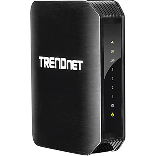 TRENDnet TEW-811DRU AC1200 Wireless Dual-Band Gigabit Router