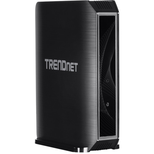 TRENDnet TEW-824DRU Dual-Band Wireless-AC1750 Gigabit Router with StreamBoost