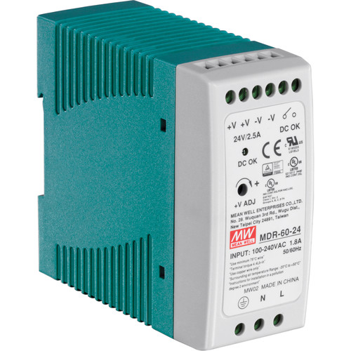 TRENDnet TI-M6024 60W Single Output Industrial DIN-Rail Power Supply