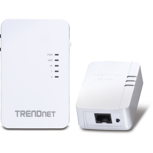TRENDnet 10/100 Mbps Powerline 500 Wireless Kit