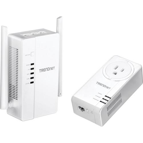 TRENDnet TPL-430APK Wi-Fi Everywhere Powerline 1200 AV2 Wireless Kit