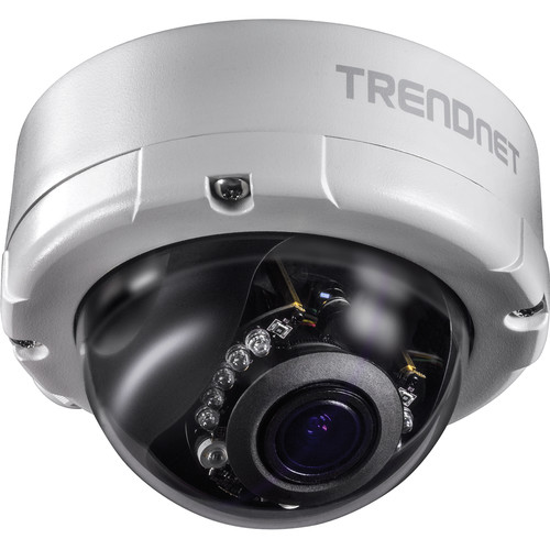 TRENDnet TV-IP345PI 4MP Outdoor Network Dome Camera with Night Vision & 2.8-12mm Lens