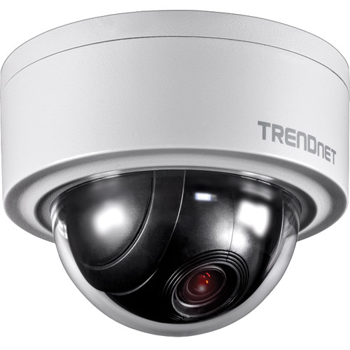 TRENDnet TV-IP420P 3MP Outdoor Motorized PTZ Network Dome Camera
