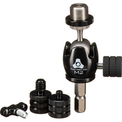 Triad-Orbit Micro 2 M2 Short Stem Orbital Mic Adapter