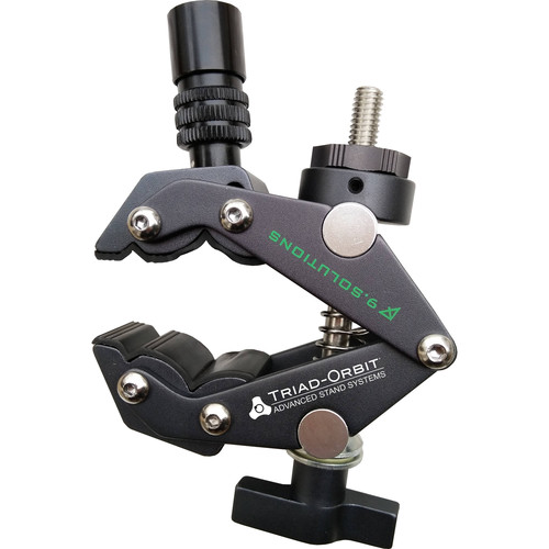 Triad-Orbit Synergy Series IO-Equipped Grip Clamp