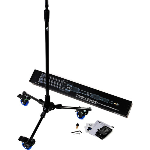 Triad-Orbit Standard Tripod Stand With Casters