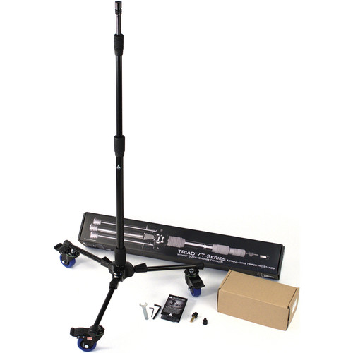 Triad-Orbit T3C Rolling Tripod Stand and VESA Video Display Mount Kit