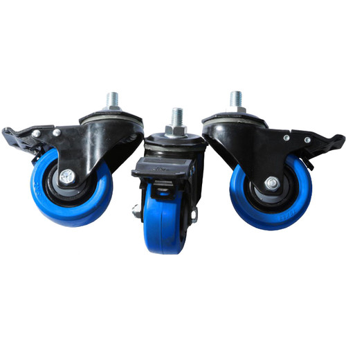 Triad-Orbit Dual-Locking Casters for T3 Stands (Set of 3)