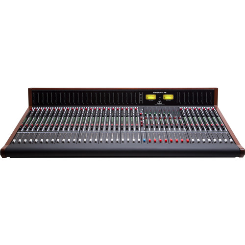 Trident Audio Series 78 Professional Analog Mixing Console with LED Meter Bridge (32-Channel)
