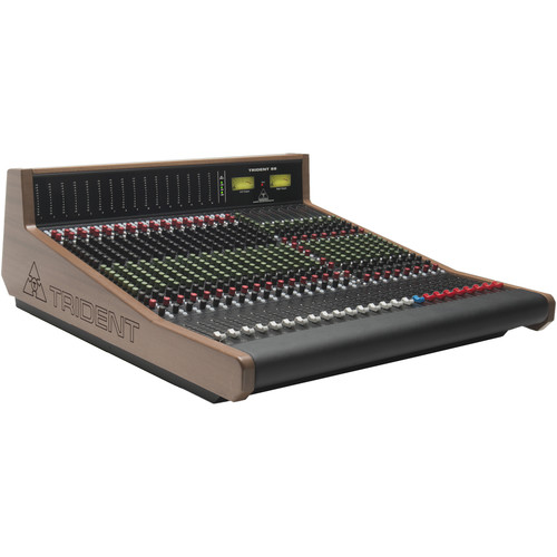 Trident Audio TR88 Analog 8-Bus Recording Console with Meter Bridge (24-Channels)