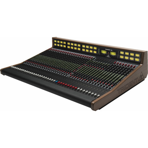 Trident Audio Full VU Meter Bridge Option for the Trident 88 32-Channel Console