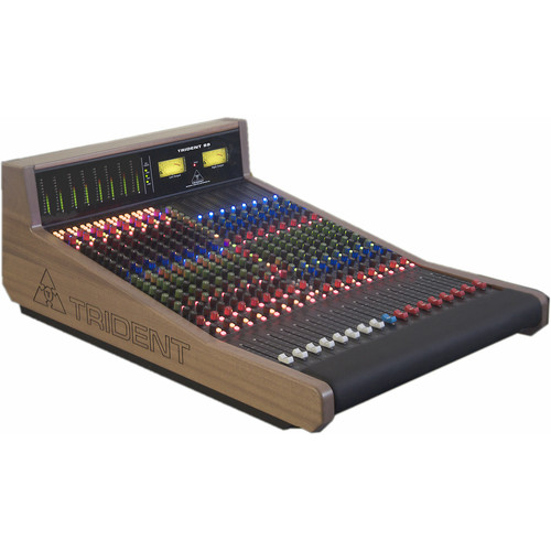 Trident Audio TR88 Analog 8-Bus Recording Console with Meter Bridge (8 Channels)
