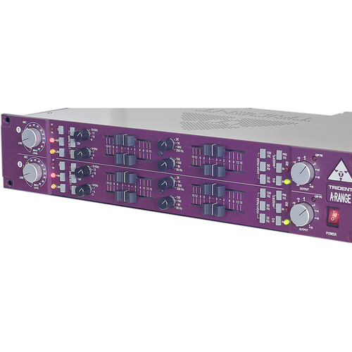 Trident Audio A-Range Dual Channel Strip with Preamp and 4-Band EQ