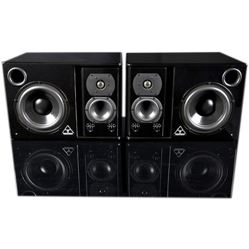 Trident Audio HG3 - 180W Near-Field Three-Way Active Studio Monitors