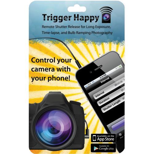 Trigger Happy E3 Trigger Happy Camera Remote for Select Canon, Pentax, Samsung and Contax