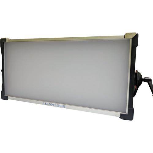 TRIGYN Vari-Light RGB+W LED 2x1 Soft Lighting Panel with V-Mount Battery Plates