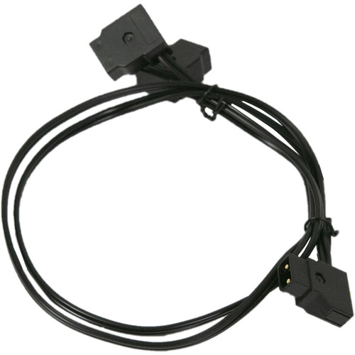 """TRIGYN Gear D-Tap to 2 D-Tap Y Cable Splitter Power Cable (21"""")"""