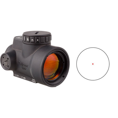 Trijicon 1x25 MRO Reflex Sight (Red Dot Reticle)