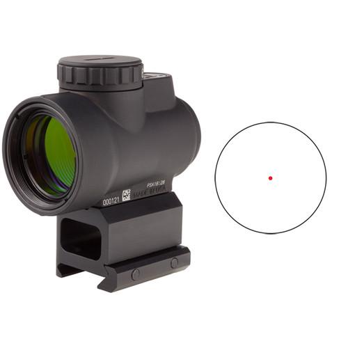 Trijicon 1x25 MRO Reflex Sightwith Lower 1/3 Co-Witness Mount (Red Dot Reticle)