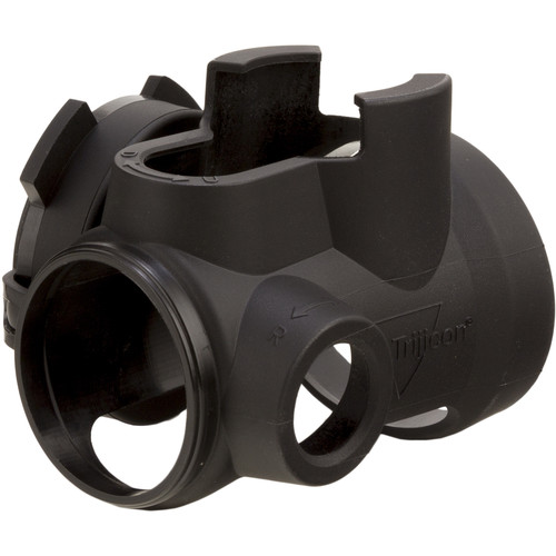 Trijicon MRO Slip-On Cover with Clear Lens Caps (Black)