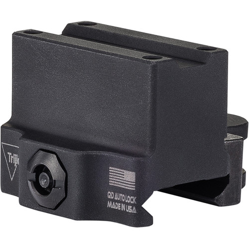 Trijicon MRO Levered Quick Release 1/3 Co-Witness Mount (Matte Black)
